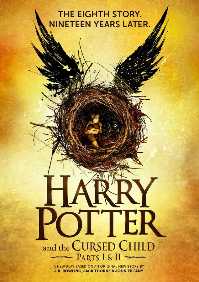 harry potter 8. book